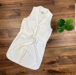 Banana Republic sleeveless tie dress, size 6